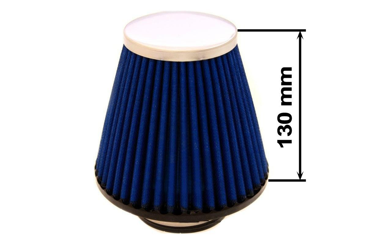 Filtr stożkowy SIMOTA JAU-X02208-05 80-89mm Blue - GRUBYGARAGE - Sklep Tuningowy